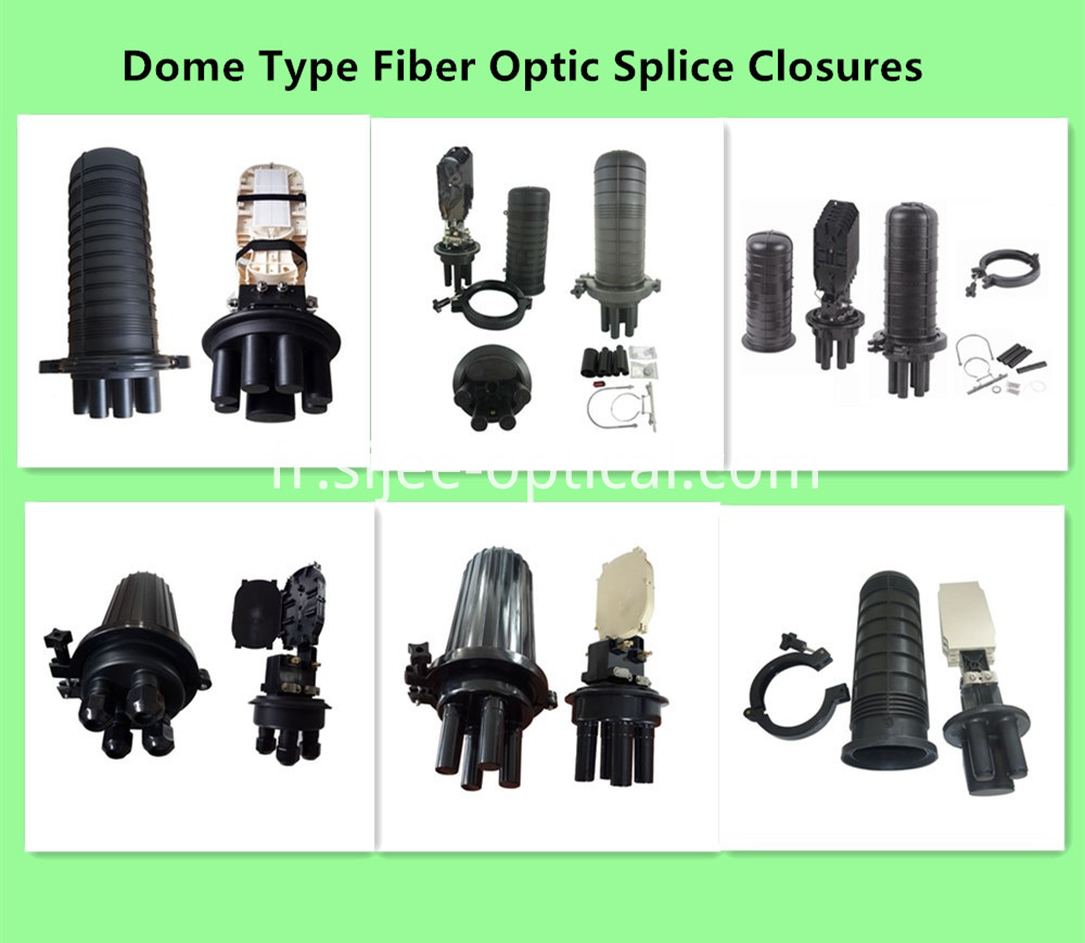 Fiber Optic Dome Splice Closures